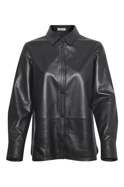 In-Mood Patricia Leather Shirt