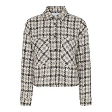In-Mood Betty Check Shirt Jacket