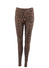 In-Mood Brown Leo Leggings