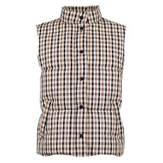 In-Mood Frankie Check Puffer Waistcoat